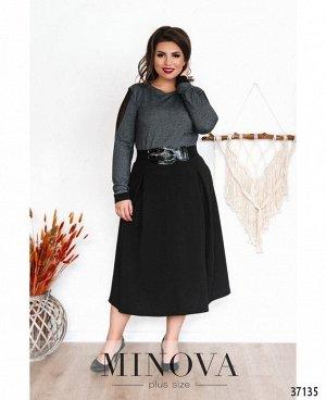 Платье №8-194-черный