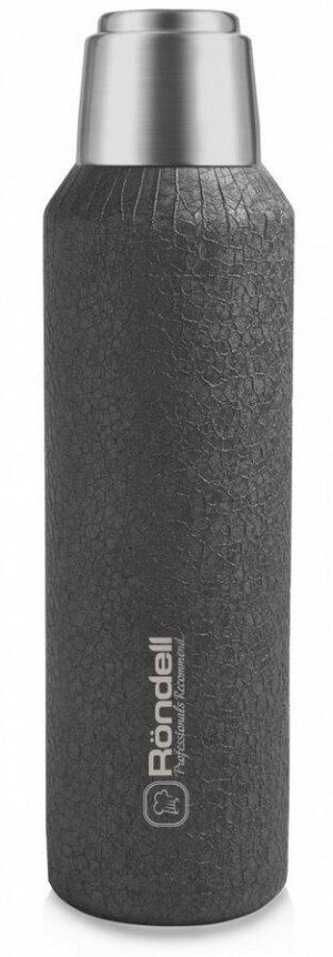 1195-RDS Термос 1,0 л Jacquard Grey Rondell