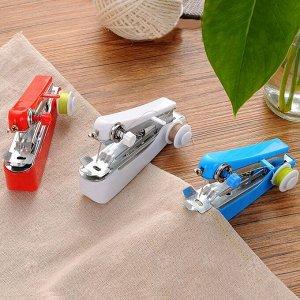 Портативная швейная машинка беспроводная ручная 1-ниточная
