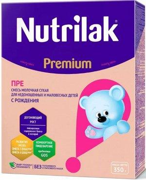 Нутрилак Премиум ПРЕ смесь сухая специализированная для недоношенных детей, 350 гр.
