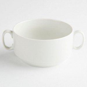 """Чашка для бульона 470мл ф.657 """"Белье"""" 4С0677Ф34"""