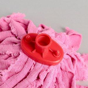 Насадка для швабры ленточная Доляна, микрофибра, 150 гр, цвет МИКС