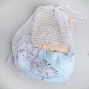 Мешок для стирки белья, 50?56 см, цвет белый