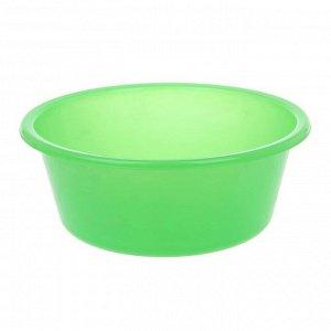 """Таз 4 л """"Кливия"""", цвет зеленый"""