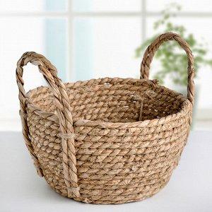 Корзина для хранения плетёная Доляна «Тэй», 20?20?12 см, цвет коричневый