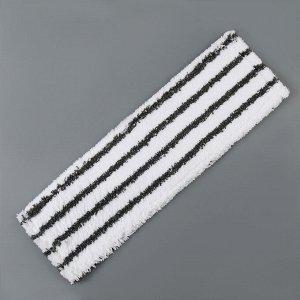 Насадка для плоской швабры 40?10 см, микрофибра, цвет МИКС