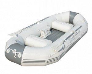 Лодка с вёслами, насосом, сиденьями, сумкой