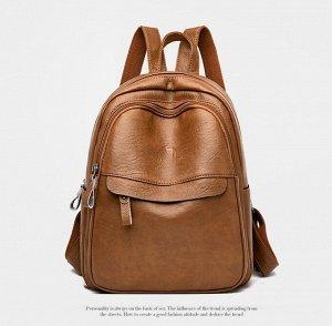 Рюкзак, светло-коричневый