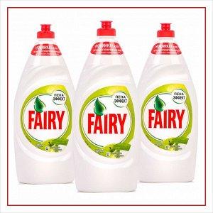 FAIRY Средство для мытья посуды Зеленое яблоко 900мл