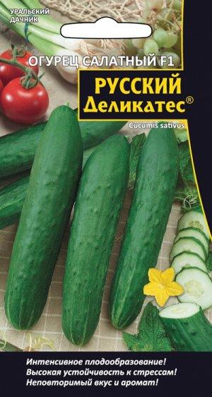 Огурец салатный F1 РУССКИЙ ДЕЛИКАТЕС