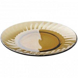 Тарелка обеденная 20,5 см ELICA дымка 62102