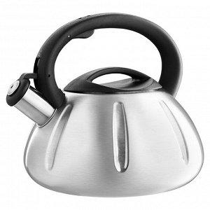 Чайник со свистком 3 л BE-0569/1 сатин