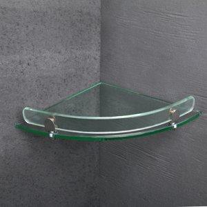 Полка для ванной комнаты 37?23,5?5 см, стекло