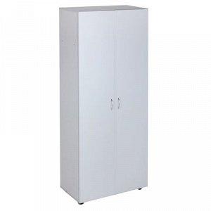 Шкаф для одежды 800х420х1880 Светло серый