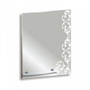 Зеркало «Шоколад», настенное, с полочкой, 50x68 см