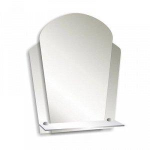 Зеркало «Нарцисс», настенное, с полочкой, 48,5?57,5 см