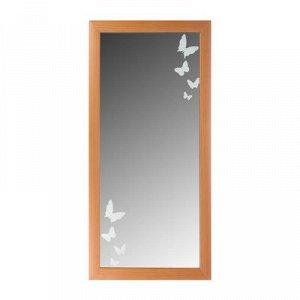 Зеркало «Нежность», настенное, орех, 60?120 см, рама МДФ, 55 мм
