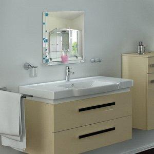 Зеркало в ванную комнату 60?45 см Ассоona A618, 1 полка