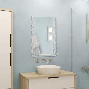"""Зеркало в ванную комнату 80?60 см """"Ассоona A626"""", 1 полка"""