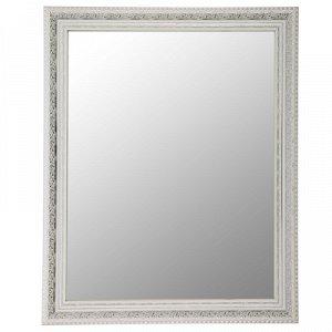 Зеркало настенное «Верона», белое, 60?74 см, рама пластик, 60 мм