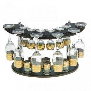 Мини-бар 18 предметов шампанское, византия, темный 200/55/50 мл