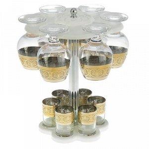Мини-бар 12 предметов коньяк, флоренция, светлый 350/50 мл