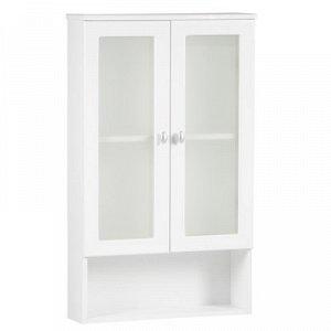Шкаф для ванной, белый 60 х 98,2 х 16,5 см