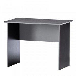Стол рабочий универсальный без отверстия, 1000х600х750, Венге/Серый