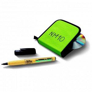 Маркер для ткани Pentel Green Label 2.0, перманентный, чёрный