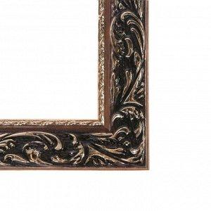 Рама для картин (зеркал) 40 х 50 х 4 см. дерево. «Версаль». цвет золотой