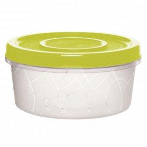 Емкость для продуктов с завинчивающейся крышкой 0,4л GR1887ОЛ оливковая роща