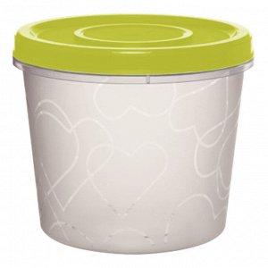 Емкость для продуктов с завинчивающейся крышкой 0,7л GR1888ОЛ оливковая роща