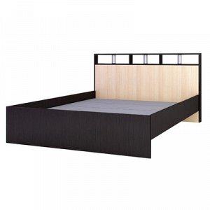 Кровать Ненси-2 1670x2170x865 венге/дуб молочный