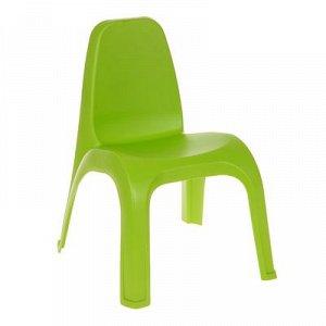 Стул детский, цвет зелёный