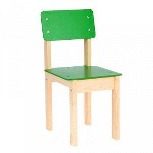 Стул детский №3 (Н=300) Зеленый КМ.014.01-32-00М