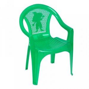 Кресло детское (380х350х535 мм), цвет зеленый