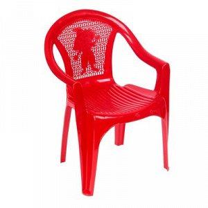 Кресло детское (380х350х535 мм), цвет красный