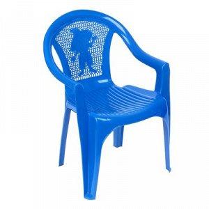 Кресло детское (380х350х535 мм), цвет синий 160-0055