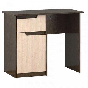 Стол косметический Гавана 900x450x750 венге/дуб молочный