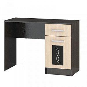 Стол косметический Эрика 1020x430x750 венге/дуб молочный