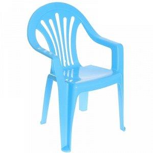 Кресло детское, цвет: голубой М2525