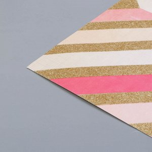 Кардсток с голографическим фольгированием Crate Paper - All Heart - Element