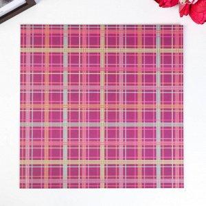 Кардсток с фольгированием Pink Paislee - Коллекция «Truly Grateful»
