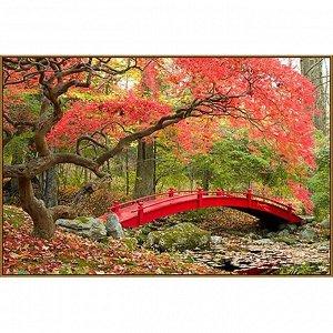 Алмазная мозаика «Японский парк», 45 ? 30 см, 38 цветов