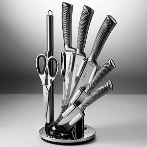 Набор ножей на акриловой подставке 8 предметов AK-2113