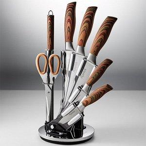 Набор ножей на акриловой подставке 8 предметов AK-2112