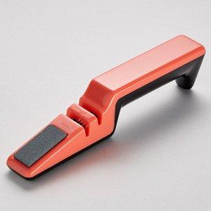 Точилка для ножей BE-5380 коралловая с черным