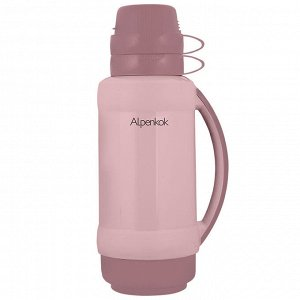 Термос 1 л Alpenkok AK-10024S бежево-розовый