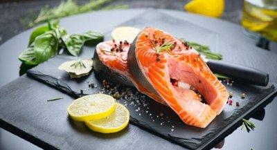 🔥 Снижаем цены! Рыбка, креветка, кальмар, икра и гребешок! — Стейки рыбные — Рыбные