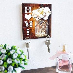 "Ключница деревянная ""Home"" 3574359"